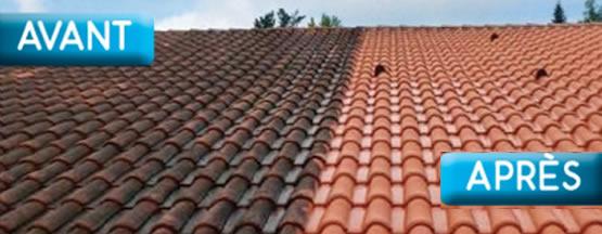 Valenciennes nettoyage demoussage toiture